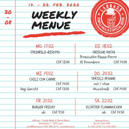 Weekly Menue_Insta